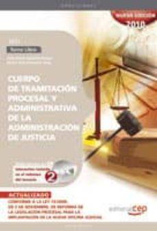 Upgrade6a.es Cuerpo De Tramitacion Procesal Y Administrativa De La Administrac Ion De Justicia. Turno Libre. Test Image