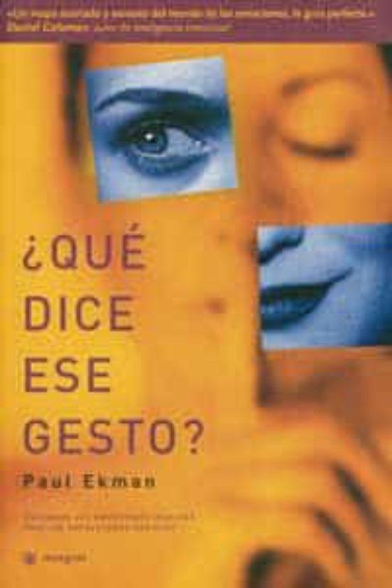 paul ekman libro que dice ese gesto pdf