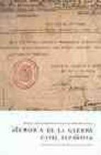 memoria de la guerra civil española: partes nacionales y republic anos-cesar vidal-9788496326101