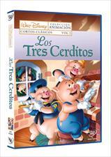 los tres cerditos: cortos clasicos vol. 2-8717418216313