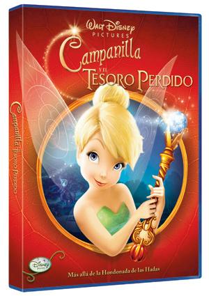 campanilla y el tesoro perdido (dvd)-8717418201173