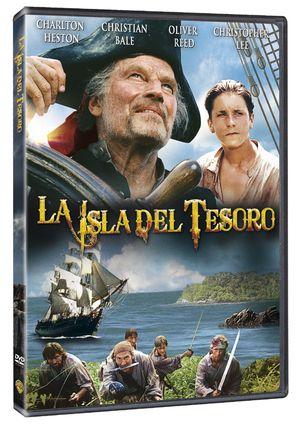la isla del tesoro (dvd)-5051893081701