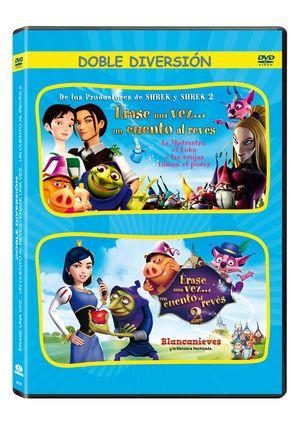 pack erase una vez... un cuento al reves 1 + 2 (dvd)-8435175961351