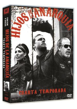 hijos de la anarquia: 4ª temporada (dvd)-8420266964199