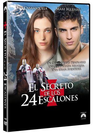 el secreto de los 24 escalones (dvd)-8414906924094