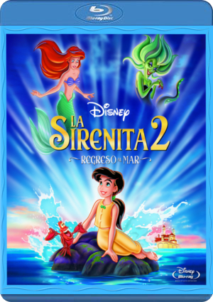 la sirenita 2: regreso al mar (2013) (blu-ray)-8717418305307