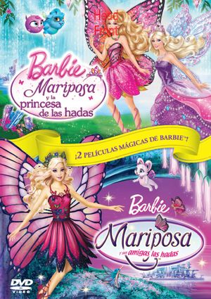 pack barbie mariposa (dvd)-8414906899620