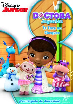 doctora juguetes: te toca un chequeo (dvd)-8717418237042