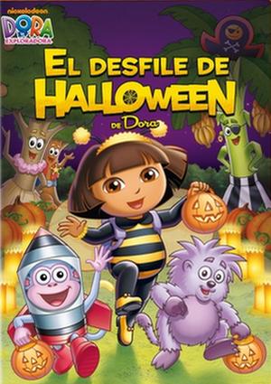 dora la exploradora: el desfile de halloween de dora (dvd)-8414906607386