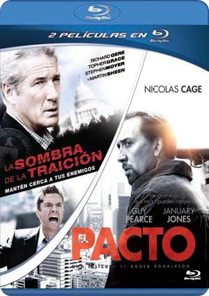 pack la sombra de la traicion + el pacto (blu-ray)-8435175966103