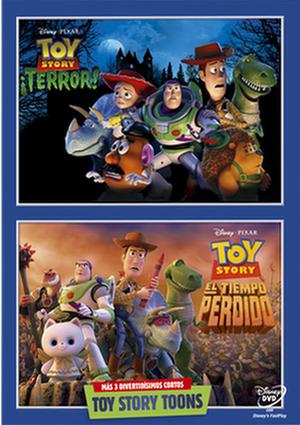 toy story ¡terror!/toy story y el tiempo perdido (dvd)-8717418455033