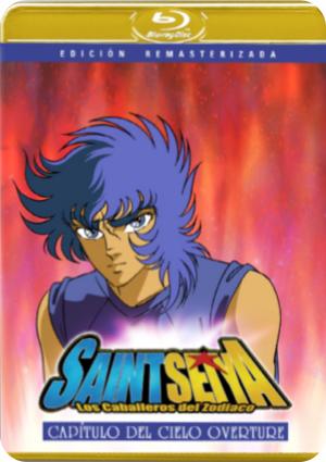 saint seiya movie 5. capitulo del cielo overture (blu-ray)-8420266104502