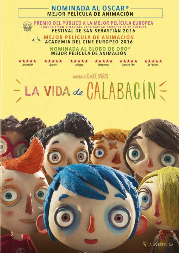 la vida de calabacín - dvd --8435175972500
