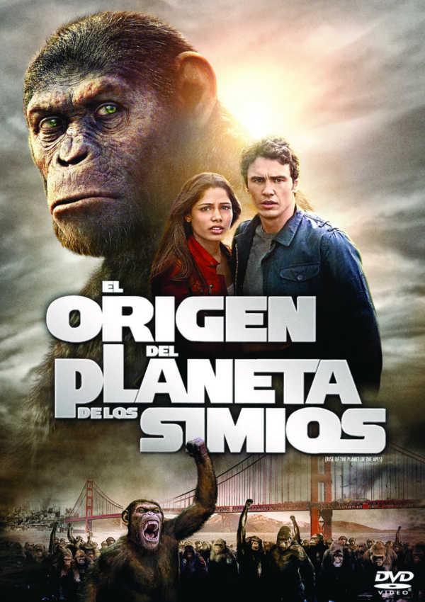 el origen del planeta de los simios - dvd --8420266008374