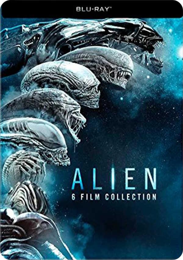 aliens - blu ray - boxset steelbook-8420266010537