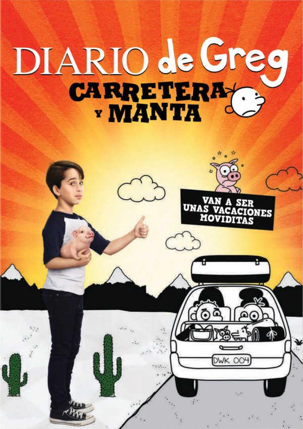 Diario De Greg Carretera Y Manta Dvd De David Bowers