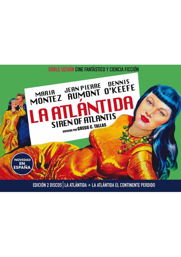 la atlantida (vos) + la atlantida el continente perdido - dvd --8436555533618