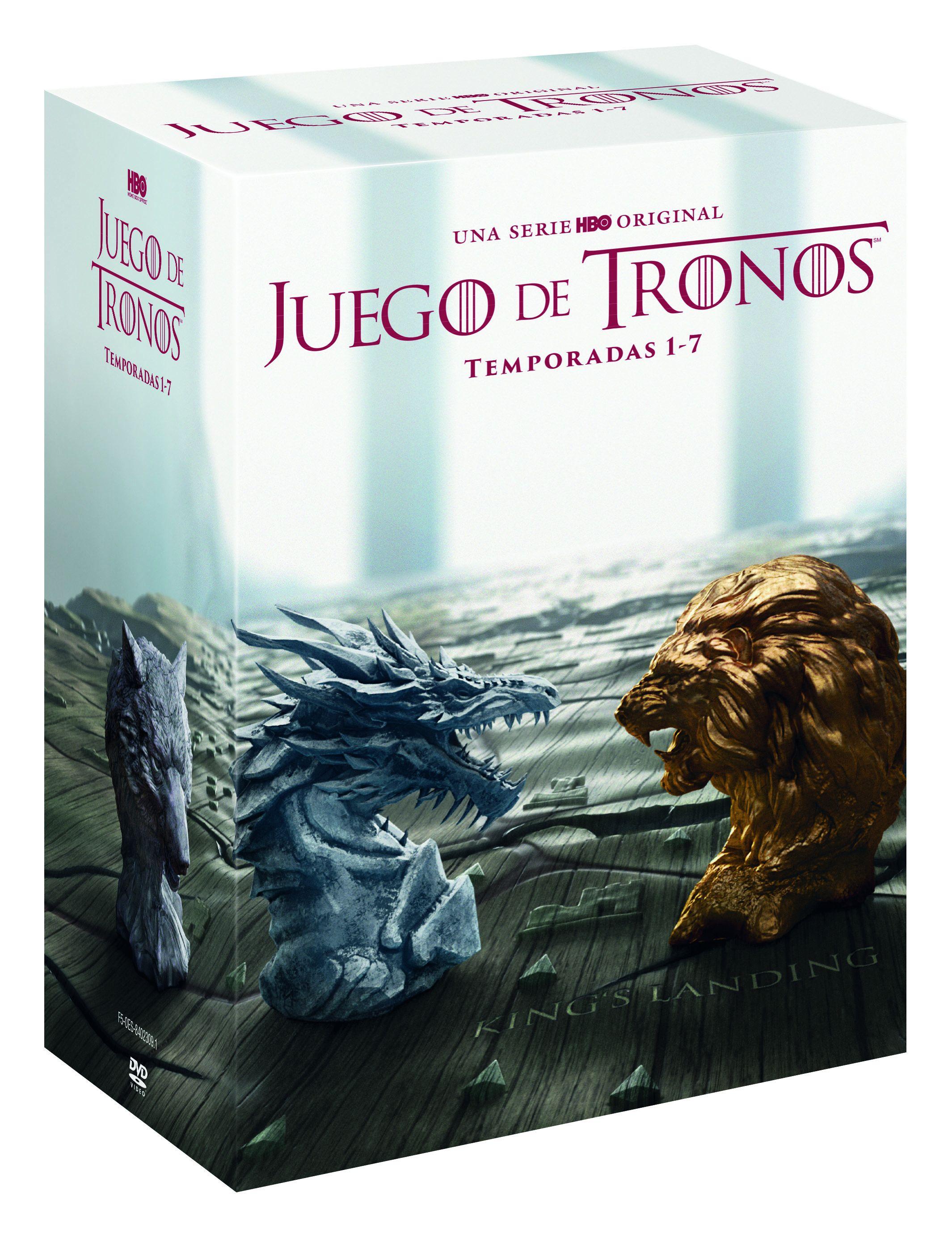 juego de tronos - dvd - temporada 1-7-8420266010803