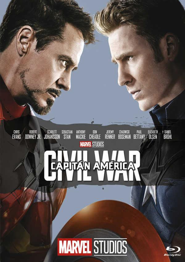 capitan america: civil war - blu ray --8717418518257
