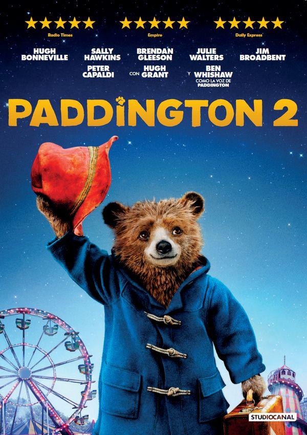 paddington 2 - dvd --8420266013590