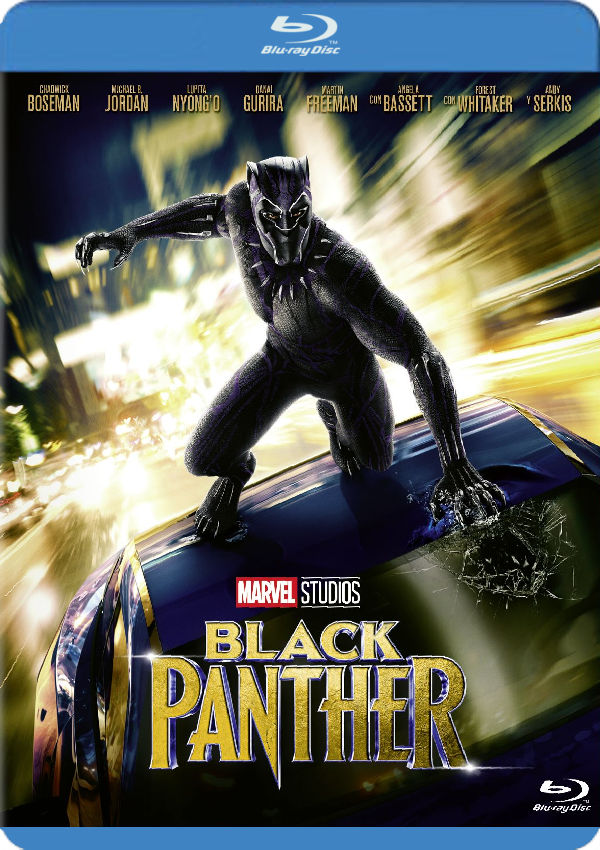 black panther - blu ray --8717418522285