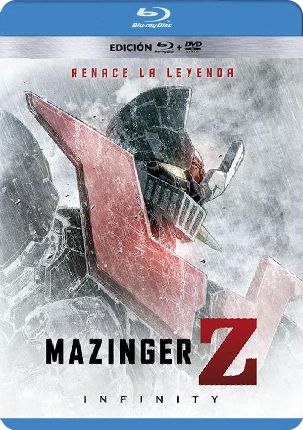 mazinger z infinity - blu ray --8420266015174