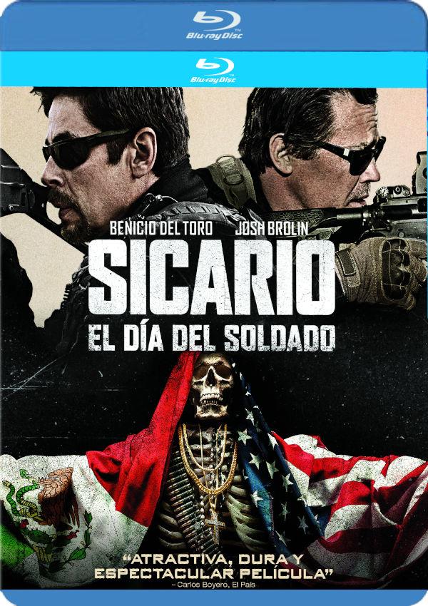 sicario: day of the soldado - blu ray --8414533116916