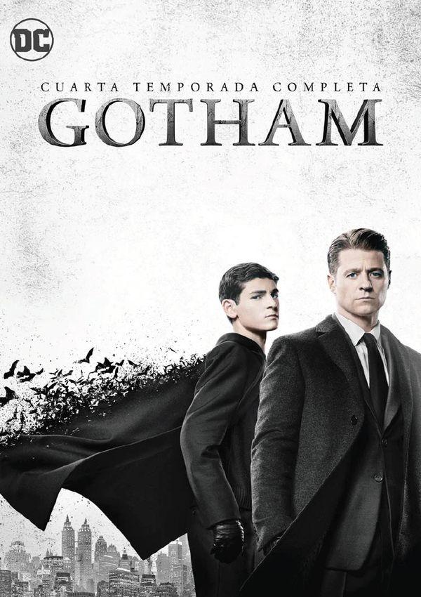 gotham - dvd - temporada 4-8420266019455