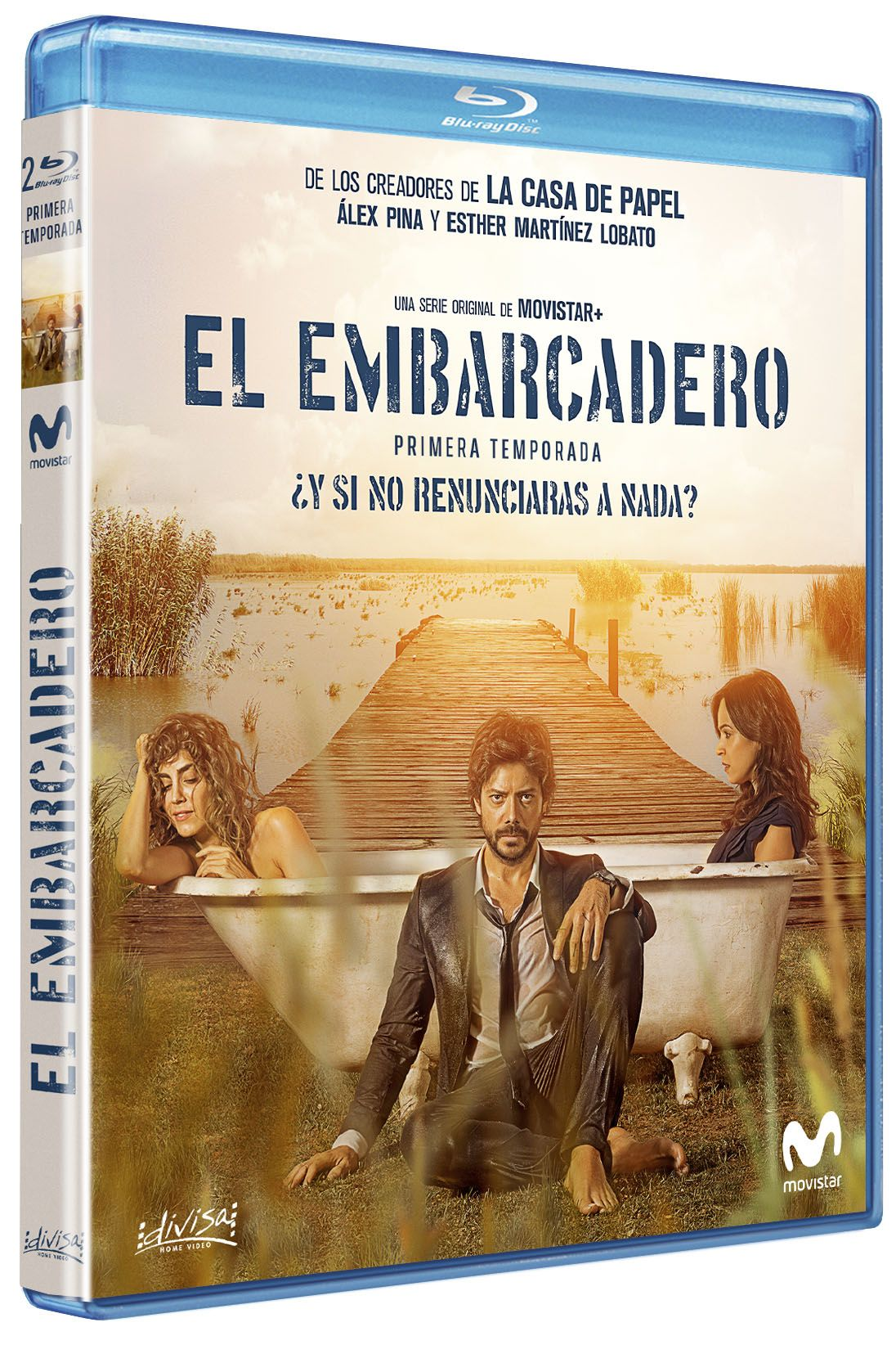 el embarcadero - blu ray - temporada 1-8421394411654