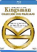 kingsman: servicio secreto + kingsman: el circulo de oro -blu ray --8420266013408